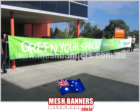 Advertising Mesh Banners