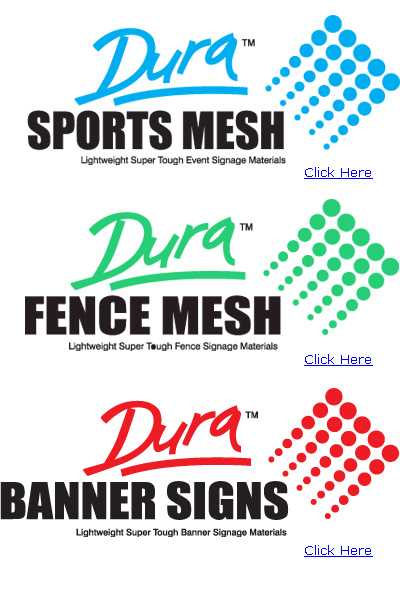 Mesh Banners for sale and price for shade cloth printing, mesh banner printing and more