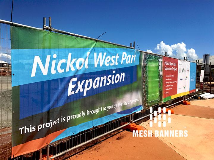 Custom Mesh Fence Banner Mesh Banner Banner Printing Banner Advertising